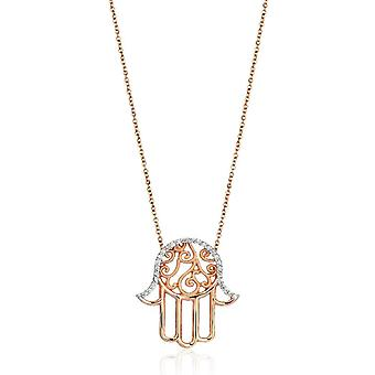 Fatima's Hand Diamond Necklace- Surprise