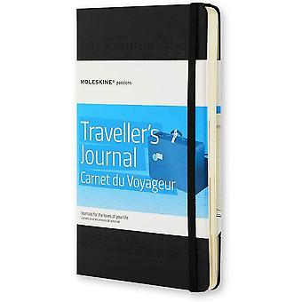 Moleskine Large Traveler's Journal Notebook Notepad Hard Cover 21 x 13 cm