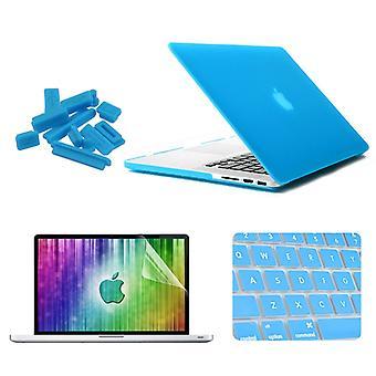 "ENKAY עבור MacBook Pro רשתית 13.3 אינץ ' (גרסת ארה""ב) / A1425 / A1502 4 ב 1 מעטפת קשיחה מגן פלסטיק מגן עם מגן מסך & מקלדת"