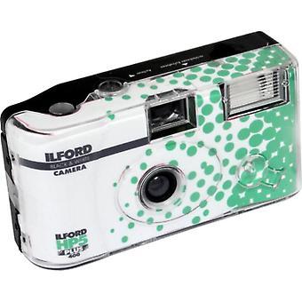Ilford hp5 más cámara desechable con flash