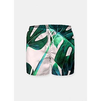 Green leafs  shorts