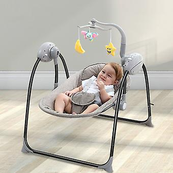 Baby 0-36 Months Multi-functional Rocking Chair for Newborn Baby Sleeping Swing Bouncer Rocking Soothing Electric Cradle