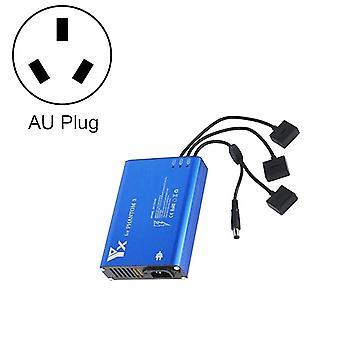 4 en 1 chargeur de contrôleur intelligent parallel power hub pour DJI Phantom 3 Standard SE FPV Drone, Plug Type:AU Plug