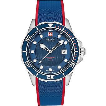Militar suizo Hanowa 06-4315.04.003 NEPTUNE Diver reloj de hombre