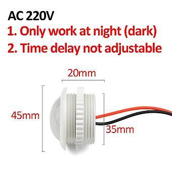 Time Delay Adjustable 110v-220v Highly Sensitive Auto On/off Pir Infrared