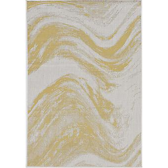 """PROVO 5764 5'3"""" X 7'7"""" - Tapis Ivoire/Or"""