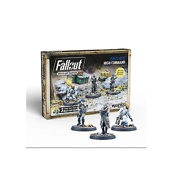 Fallout Wasteland Warfare Enclave Högsta kommandot