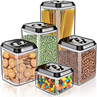 Masthome 5 PCS Food Storage Containers Sets with Airtight Lids, BPA Free Food Storage Containers