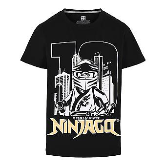 Lego indossa Legowear Boys Tshirt Ninjago 10 Years Black