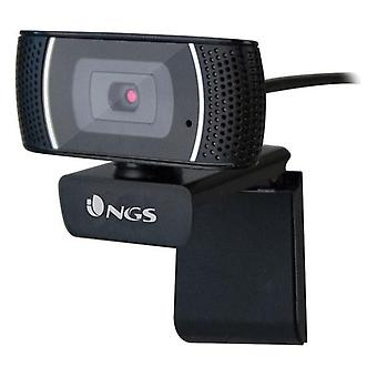 Webbkamera NGS XPRESSCAM 1080px Svart