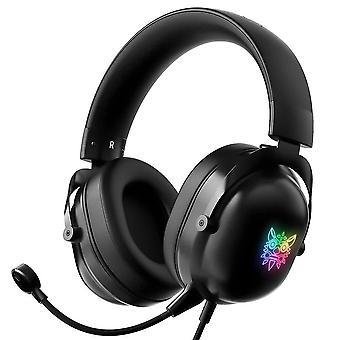ONIKUMA X11 headset with RGB LED light