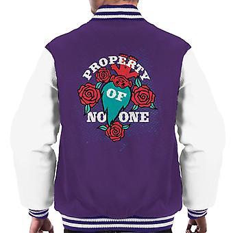 Trolls Property Of No One Men's Varsity Jacket