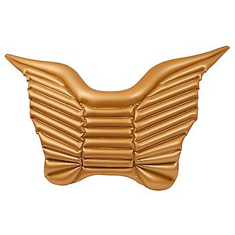 Air matraze butterfly butterfly gold 140 cm pool toy inflatable