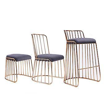 بسيطة الحديثة بار البراز الذهب الحديد المطاوع الطعام / غرفة المعيشة / كرسي الصالة