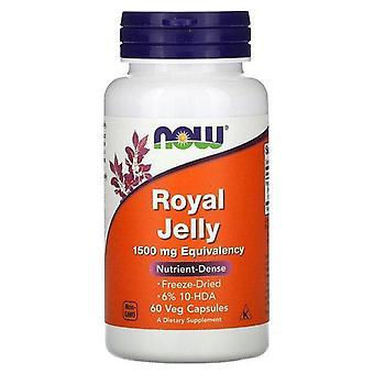 Nu Voedingsmiddelen, Royal Jelly, 1.500 mg, 60 Veg Capsules