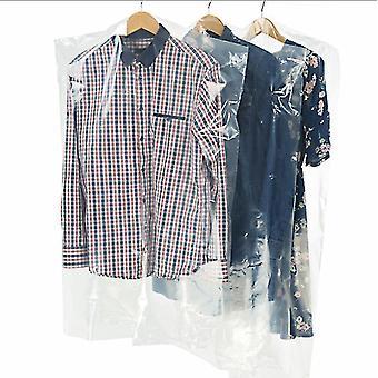 10pcs-100pcs Dust-proof Transparent Clothing Store Plastic Packaging Bags