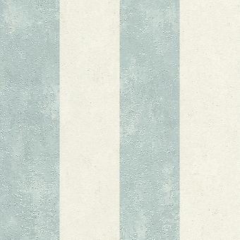 Lucera Stripe Fond d'écran Teal Rasch 608922