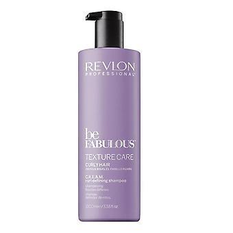 Revlon Be Fabulous - Shampooing pour cheveux bouclés 1000ml