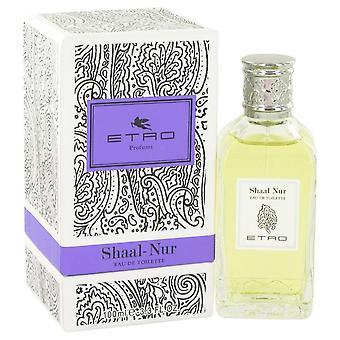 Shaal Nur Eau De Toilette Spray (Unisex) av Etro 3,4 oz Eau De Toilette Spray