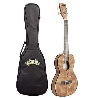 Kala ka-emtu-t travel tenor ukulele, satin exotic mahogany with gig bag