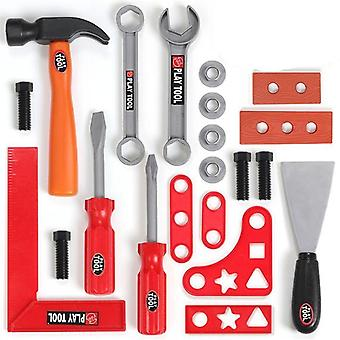 Pretend Play Environmental, Plastic Engineering Maintenance Tool Toy