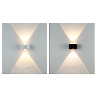 Lampada da parete impermeabile a led - Luce del portico e luci da parete del giardino del cortile