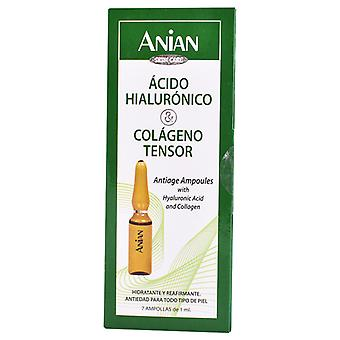 Anian Hyaluronzuur en collageen 7 ampullen x 1 ml