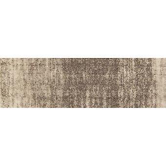 Salonloewe dörrmatta gränslös Ronny Stripes taupe 035x120 minimatta