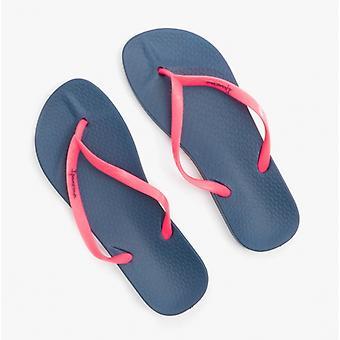 Ipanema Anatomica Tan 21 Ladies Flip Flops Pink/navy