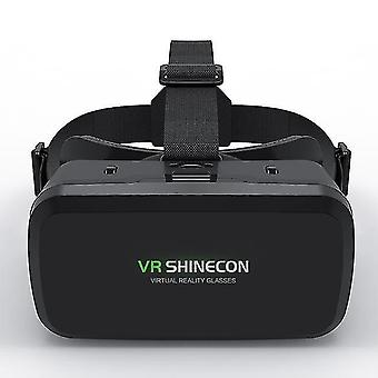 Vr virtual reality 3d glasses box for movie games vr headset helmet for ios android smartphone binoculars with bluetooth rocker