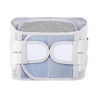 Men women adjustable  self heating magnetic therapy back waist support belt lumbar brace massage band health care