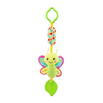 Bee Rattle Toys With Chime Bb Device Teether Plush Baby Hanging Toys Colorful Rattling Doll For Infant
