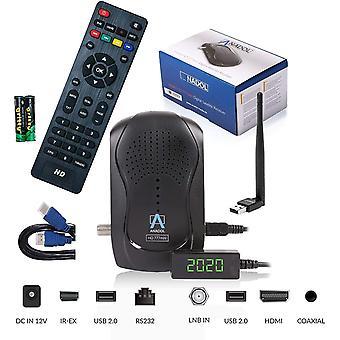 FengChun HD 777 mit PVR Aufnahmefunktion Timeshift - 1080p HDTV HD digitaler Mini Sat Empfänger -