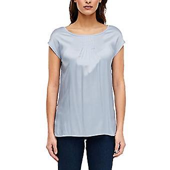 s.Oliver BLACK LABEL 150.10.003.12.130.2011374 T-Shirt, Azzurro, 52 Donna
