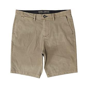 Billabong Nuevo Pedido X OVD Pantalones Cortos de Anfibios en Khaki