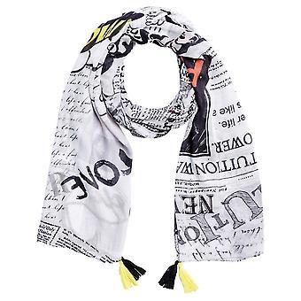 Oui popkonst inspirerad Print scarf