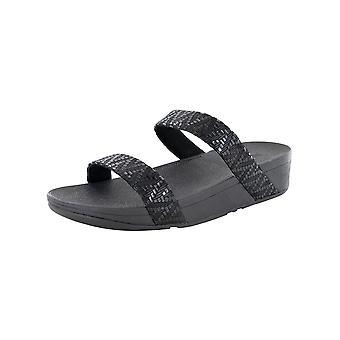 Fitflop Zapatos de sandalia slide Lottie Chevron para mujer