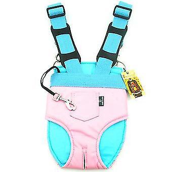 S roz outing portabil piept sac pui mici spate cat sac de companie rucsac sac de călătorie az7907