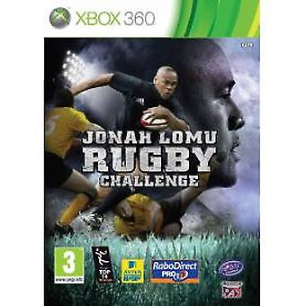 Jonah Lomu Rugby Challenge Game XBOX 360