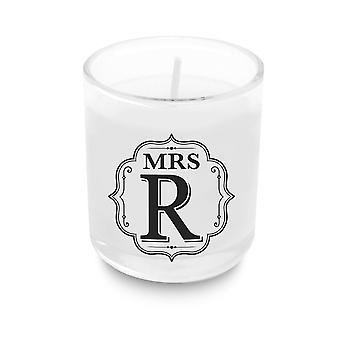 Heart & Home Alphabet Candela votiva - Mrs R