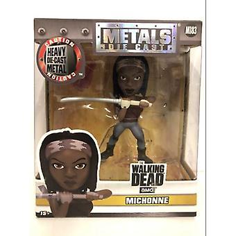 The Walking Dead Michonne 4 pouces Diecast Figure Jada 97935