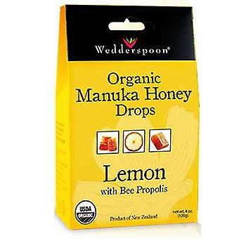 Wedderspoon Manuka Honey Drop, Lemon 4 OZ