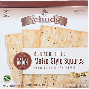 Yehuda Matzo Sq Gf Tst Onion, Case of 12 X 10.5 Oz