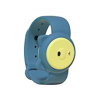 Children's Ultrasonic Mosquito Repellent Bracelet, for Indoors and Outdoors Blue kitten