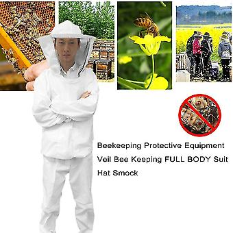 Biavl beskyttelsesudstyr Veil Bee Holde Full Body Suit Hat Smock