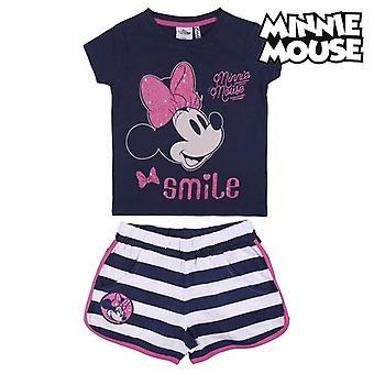Sæt tøj Minnie Mouse Blue