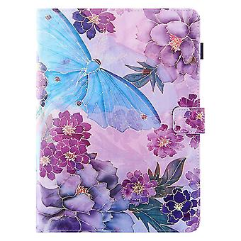 Case For Ipad Pro 11 Inch 2021 (3rd Generation) Cover Auto Sleep/wake Rotating Multi-angle Viewing Folio Stand - Peony