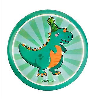 Kinder Soft Flying Discs Eltern-Kind Outdoor Sport Falten Frisbee Spiel Spielzeug (Dinasour)