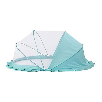 Baby foldable mosquito net(Blue)