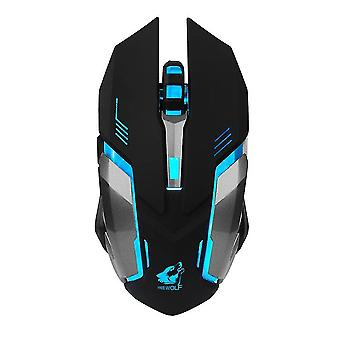X7 Wireless Gaming Mouse in Battletech Design with LED lighting